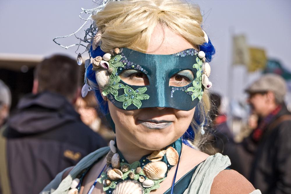 Nixe Kostüm zum Maskenzauber 2011