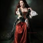 Kleid der italienischen Renaissance