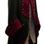 Uniform-Gehrock mit passender Weste