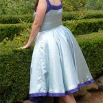Kleid um 1950