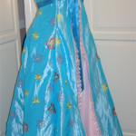 Kleid nach Vorbild des Vorhand-Kleides aus dem Film Verwünscht
