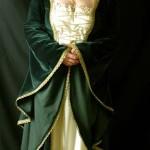 Mittelalterkleid Celtic Bride aus Samt