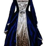 Mittelalterkleid Celtic Bride aus Seide