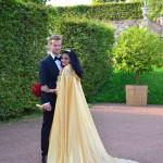 Umhang für eine Hochzeit