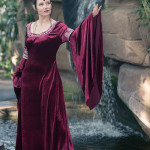 Arwen Cranberry Dress