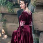 Arwen Cranberry Dress