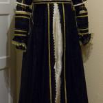 Frontansicht Kleid italienische Renaissance