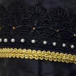 Ärmeldetail Kleid italienische Renaissance