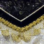 Ausschnitt Kleid italienische Renaissance