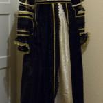 Seitenansicht Kleid italienische Renaissance