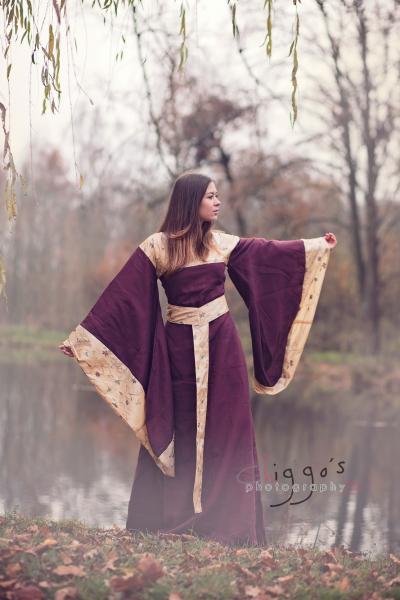 Mittelalterkleid Akiko, Fotografie Chiggo Phtotography, Model Simone Fladung