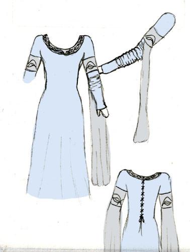Mittelalterkleid Robin