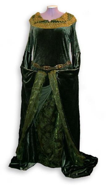 Eowyn Grünes Kleid