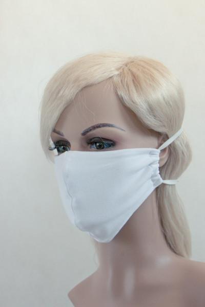Alltagsmaske weiß