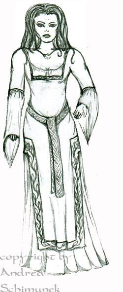 Mittelalterkleid Serena von Gewandfantasien