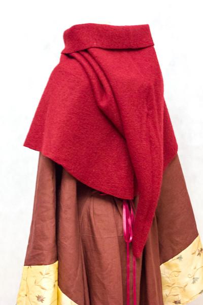 Gugel aus Walkwolle