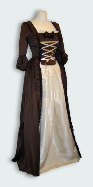 Kleid Rokoko historisierend
