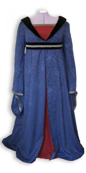 Mittelalterkleid Houppelande