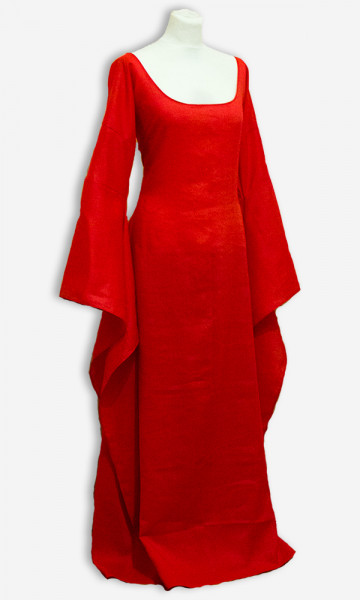 Mittelalterkleid Rote Priesterin Basis-Kollektion