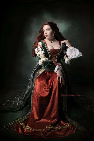 Renaissancekleid Lucrezia