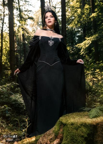 Gothic Kleid Rabenkönigin